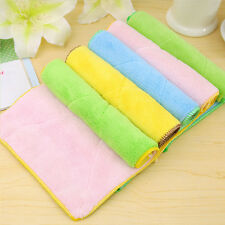 Practical Double-sided Absorbent Rag Dishcloth Towel Home Kitchen Washing Tools
