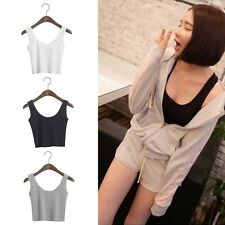 Hot Summer Girls Women Sexy Short Camisole Navel-baring Vest Shirt Tops Y#