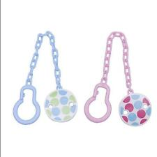 Toddler Toy Soother Pacifier Holder Chain Clip Dummy Infant Boy Baby New Girl