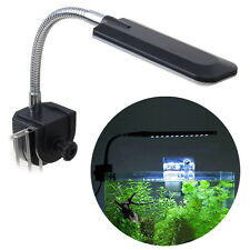 1.5W 24 LED Aquarium Fish Tank Clip Lamp Lighting White&Blue 3 Working Mode