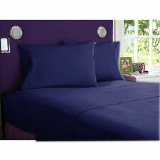 1000 Thread Count Navy Blue-Bedding Sheets Collection 100%Egyptian Cotton*