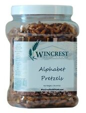 Alphabet Pretzels -Pick a Size! - Free Expedited Shipping!