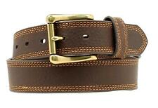 Nocona Western Mens Belt HDX Triple Stitch Extreme Basic Choc Brown N2710602