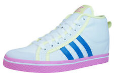 adidas Honey Stripes Up Womens Mid Top Trainers Shoes