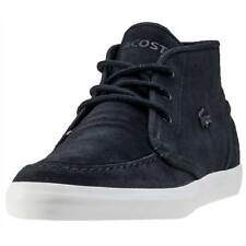 Lacoste Sevrin Mid 316 1 Mens Chukka Boots Black New Shoes