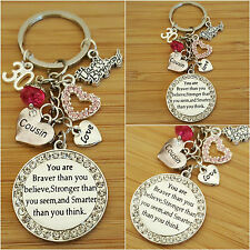 Personalised Birthday Keepsake Gift keyring 12th 16th 18th 21st 30th 50th 60th !