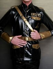 LIP SERVICE - FETISH ALLIANCE - FOUR STAR JACKET - BLACK/GOLD - FETISH MILITARY