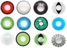 Coloured Halloween Lenses and  free color Lens case