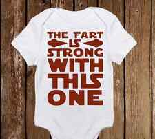 The Fart is Stong With This One Star Wars Cute Baby Girl/Boy clothes onesie