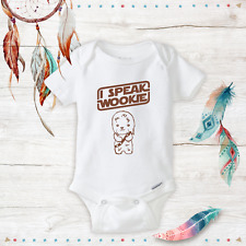 I Speak Wookie Star Wars Chewbacca Baby Clothes Baby Girl/Boy Unisex onesie