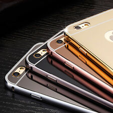 Luxury Aluminum Ultra-thin Mirror Case Cover for New Apple iPhone 7 6 6S Plus