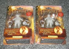 2 x THE HOBBIT INVISIBLE BILBO BAGGINS ACTION FIGURE RARE COLLECTIBLE TOY