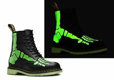 Doc Dr Martens Unisex 1460 Skelly Glow In The Dark Skeleton Leather Boots
