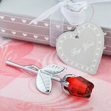 Choice Crystal  Collection Red Rose Favors - Wedding Favors / FC-2255
