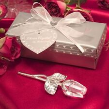 Choice Crystal By PartyFairyBox - Long Stem Rose - Wedding Favors / FC-2202