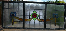 Art deco leaded light stained glass window. R270c. WORLDWIDE DELIVERY!!!