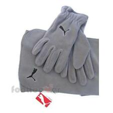 Puma Christmas Gift Gift Idea man / woman Kit Gloves+Scarf Grey Fleece