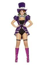 Women's Alice in Wonderland MadHatter As Mad a Mad Hatter Costume