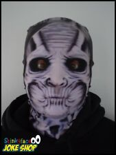 Ice Demon Scary Full Head Mask Realistic Printed Lycra for Halloween