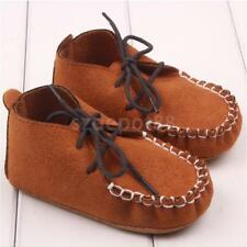 Baby Boys Nubuck Shoes Crib Shoes Moccasins Soft Soled Shoes