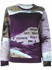 MM6 Maison Martin Margiela Multicolor Digital Print Sweatshirt SALE