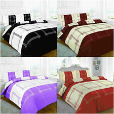 NEW CAMPUS DUVET QUILT COVER PILLOWCASE BEDDING SET SINGLE DOUBLE KING SUPERKING