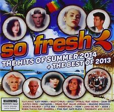 So Fresh: The Hits Of Summer 2014 + The Best Of 2013 New & Sealed CD Free Shippi