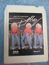 """DOLLY PARTON - """"HERE YOU COME AGAIN"""" - 8 TRACK TAPE - WORK TESTED"""