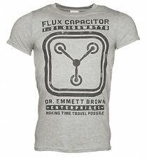Official Men's Schematic Back To The Future Flux Capacitor T-Shirt XL