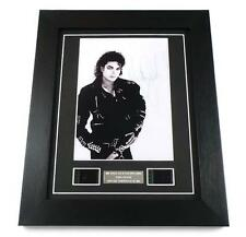 MICHAEL JACKSON FILM CELL + Signed PREPRINT THIS IS IT MOVIE MEMORABILIA GIFT
