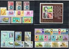 ST HELENA -  SELECTION OF STAMP SETS MINT LIGHTLY HINGED (3 SCANS)