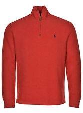 POLO RALPH LAUREN Big & Tall French-Rib Mock Neck Sweatshirt 2XLT Red $125