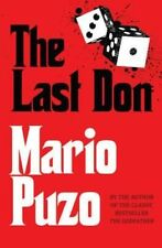 NEW The Last Don by Mario Puzo Paperback Book Free Shipping