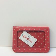 Cath Kidston Purse Wallet Travel Card Coin Holder Oil Cloth - Brand New