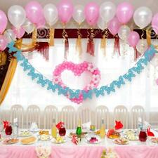 Hanging Paper Garland Wedding Birthday Party Butterfly Banner Xmas Decoration
