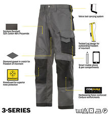 Snickers Trousers 3312 3-Series Work Trousers Snickers Direct Muted Grey
