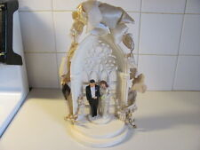 Vintage Wedding Cake Topper by Coast Novelty Mfg. Co. Dated 1949