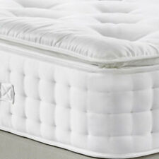 LUXURY 2000 POCKET SPRING PILLOW TOP MATTRESS, DOUBLE 5FT KING SIZE SUPER KING