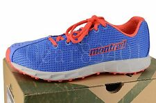 New in box Womens Montrail Rogue Fly Hiking Trail running shoe Harbor blue