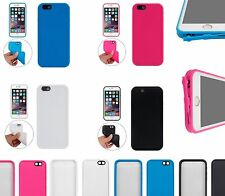 Ultra-Thin Full Body Water/Dust Resistant iPhone 6s 6 Cover Case Dust Plugs