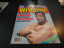 victory sports series wrestling the wrestler may 1989 ricky steamboat wwf nwa