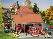 Faller Fire Station Garage 130162 HO Scale (suit OO also)
