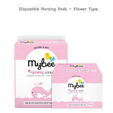 MyBee Soft flower type Disposable Nursing Breast Pads