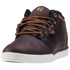 Etnies Jefferson Mid Mens Chukka Boots Brown White New Shoes