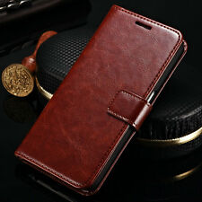 Retro Leather Flip Wallet Photo Card Stand Case Cover For Samsung Galaxy Note 5