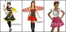 *NEW Girls Bee Ladybug HELLO KITTY Halloween COSTUME DRESSUP  8 10 12