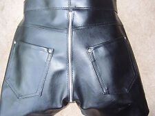 THE FEDERATION FAUX LEATHER ZIP  CROTCH   JEANS ALL SIZES COLOURS NEW SALE PRICE
