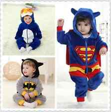 Halloween Baby Super Hero Costume Clothes romper  Party Outfit Fancy Dress 0-3Y