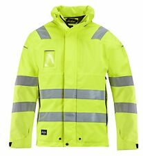 Snickers 1683 High-Vis GORE-TEX Shell Jacket  Class 3 SnickersDirect Yellow