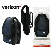 Verizon OEM Nite-Ize Vertical Rugged Pouch - Navy Blue holster cover